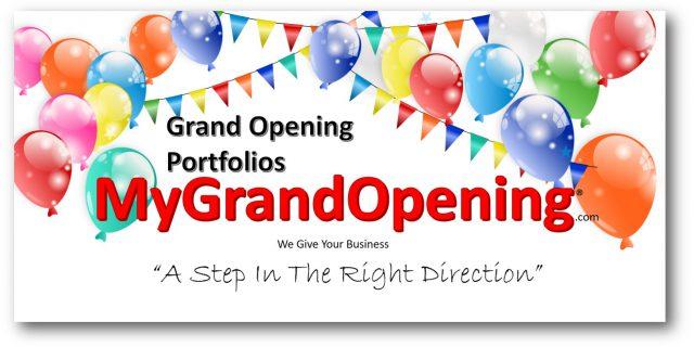 Grand Opening Portfolio