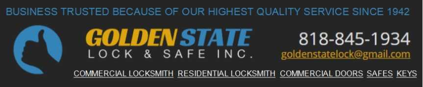 Golden State Lock and Safe Banner